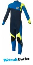 Rip Curl Junior Flash Bomb 3 / 2mm GBS Zip Free Wetsuit AZUL WSM5OB