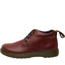 Dr Martens Mens Barnie Lace Up Low Boots Cherry Red 11 UK / 46 EU