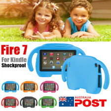 NEW Kids Shockproof Soft EVA Handle Stand Case Cover For Amazon Kindle Fire 7 AU