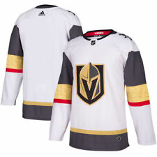 adidas Vegas Golden Knights White Away Authentic Blank Jersey