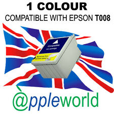 1 Colour tinta compatible con T008 CARTUCHOS [NO ORIGINAL EPSON ]