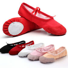 Ballet Dance Dancing Shoes Pointe For Children Soft Flats Shoes Comfortable ww