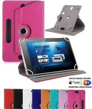 Funda Universal cuero Rotable 360º para Tablet Pc 7 8 9 10 Pulgadas