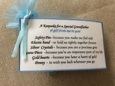 Novelty Keepsake gift for Grandfather Birthday Fathers Day gift for him men