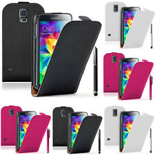 Housse de protection pour Samsung Galaxy S5 G900F G901F Stylet
