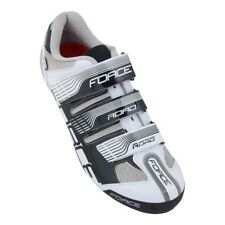 FORCE ROAD RACE CYCLING SHOES WHITE-BLACK