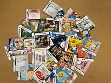 Over 110x Nintendo DS Manuals, All £1.99 Each With Free Postage, Trusted Shop