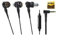 Audio-Technica ATH-CKS1100iS Solid Bass In-Ear Headphones with Mic & Control