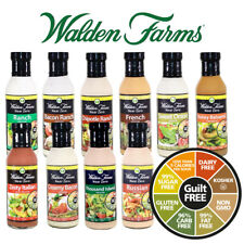 Walden Farms Near Zero Calorie Salad Dressing Carb Free Fat Free - Free Delivery