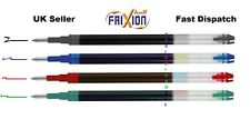 Pilot Frixion Erasable Roller Ball Pen 0.7 mm Fine Refill - Black Blue Red Green