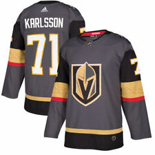 adidas William Karlsson Vegas Golden Knights Gray Authentic Player Jersey