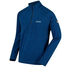 Regatta Mens Montes Lightweight Half Zip Mini Stripe Fleece RRP £29.99!!