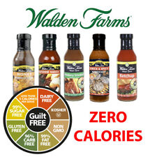 Walden Farms Near Zero Calorie Table Sauce Carb Free Fat Free Different Flavours