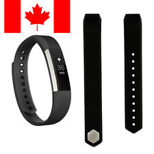 For Fitbit Alta Alta HR Band Replacement Wrist  Silicone Smart Watch Band Black