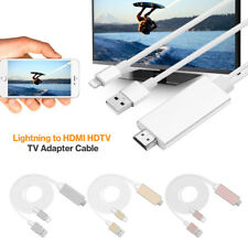 8 Pin 2M Relámpago Cable a HDMI TV AV Adaptador iPad iPhone X 8 7 7 Plus 6 6S