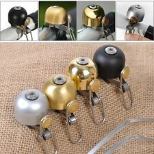 Retro Stainless Steel Safety Cycling Bicycle Bell Bike Sound Handlebar Ring Horn