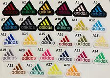 Adidas Iron on sew on Embroidered Patch Badge Shirts jackets Bags Jean Sports