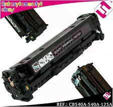 TONER NERO CB540A 540A 125A COMPATIBILE PER STAMPANTI ICT HP NO ORIGINAL