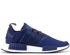 Adidas Originals NMD R1 ® ( Men Size UK: 7 & 12 ) Sporty Blue Navy White BY2505