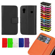 PU Leather Case Cover Pouch For Samsung Galaxy S5 S6/S6 Edge, S7/S7 Edge, S5830