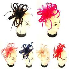 High Quality Headband and Clip Fascinator Weddings Ladies Day Race Royal Ascot