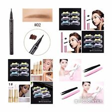 Brown Eyebrow Tattoo 7 Days  Long Lasting  Electric Brow Trimmer Stencils Makeup