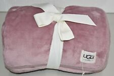 NEW UGG Uggs Duffield Throw Dust Heather Pink Lilac RARE COLOR!