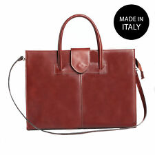 Borsa a mano Porta Documenti 24 ore da Donna vera pelle made in italy VG22902518