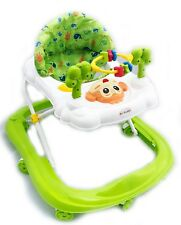 Baby Walker First Steps Activity Bouncer Musical Toy Push Along Ride On Smiley