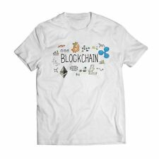 BlockChain Cryptocurrency T-Shirt, Cryptocurrency Shirt, Bitcoin T-Shirt