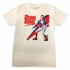 David Bowie Rebel Rebel Unisex Official Tee Shirt Brand New Various Sizes