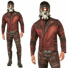Mens Star Lord Guardians of the Galaxy Avengers Infinity War Fancy Dress Costume