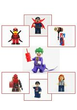 Superhero DC Comic Marvel Mini Figure Unbranded Fit Lego Minifigure UK Seller