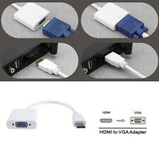 Micro HDMI Male To VGA Female Converter Adapter Cable Support 1080P PC TV HDTV