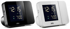 Radio controlled alarm clock Braun + motion activated projection, alarm + snooze
