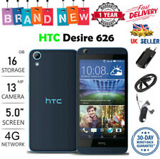 "New HTC Desire 626 Android 5"" 13MP 16GB 4G Sim Free Dual Sim uk seller"