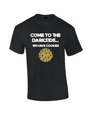 Come To The Dark Side Cookies Funny Mens T-SHIRT Womens Tshirt Force  Sci Fi