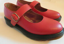 Dr Martens 'Indica' Red Mary Jane Sandals UK 3