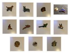 PINS PIN'S - ANIMAUX DIVERS - CHIEN PERROQUET OURS CANARD DAUPHIN