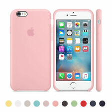 Original Ultra Suave Funda de silicona Funda para Apple iPhone 8 7 6s 6 Plus Box