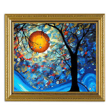 Abstract Landscape Unframed Hand Painted By Numbers DIY Oil Painting Art Crafts