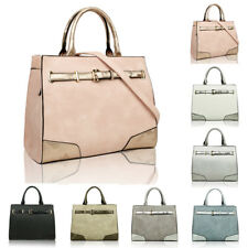 Women's Faux Leather Fashion Handbag Tote Hobo Shopper Crossbody Shoulder Bag