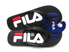 FILA TONGS CHAUSSONS TROY SLIPPER NOIR BLANC 1010288.2