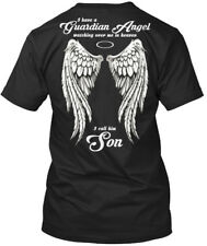 Fun Son - I Have A Guardian Angel Watching Over Me In Heaven T-shirt Élégant
