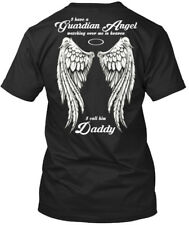 Unique Daddy - I Have A Guardian Angel Watching Over Me In T-shirt Élégant