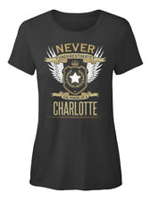 Charlotte The Power Of - Never Underestimate A T-shirt Élégant pour Femme