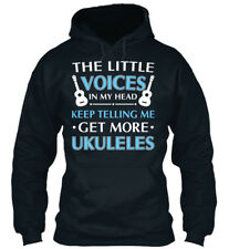 Get More Ukuleles - The Little Voices In My Head Sweat à Capuche Confortable