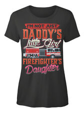 Off-the-rack Firefighters Daughter - I Am Not Just T-shirt Élégant pour Femme