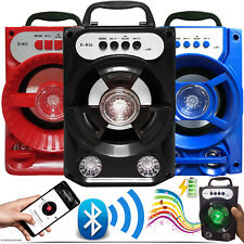 WIRELESS BLUETOOTH HANDSFREE HIFI STEREO SPEAKER BOX WITH BUILT IN FM/USB/AUX/TF