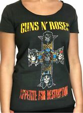 Guns N Roses Appetite Amplified Ladies Official T Shirt Brand New Various Sizes